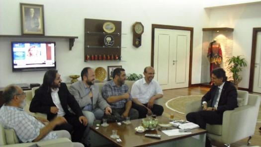 Fatih Belediye Başkanı Ziyaret Edildi