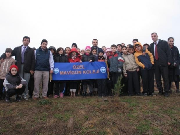 ÇEKÜD ve Gaziosmanpaşa Milli Eğitim Müdürlüğü'nden 5000 Fidan