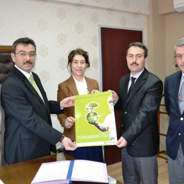 Aksaray'da Tohumlar Fidana, Fidanlar Ağaca Durdu