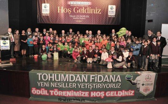Beykoz'da Minik Eller Büyük İşler Başardı