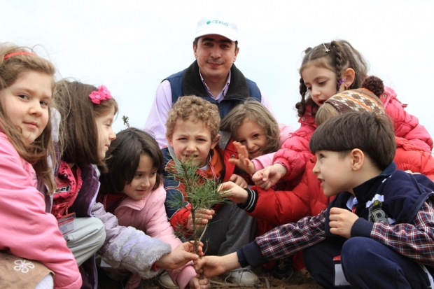 İstanbul İlkbahar Ağaçlandırma Çalışmaları Tamamlandı
