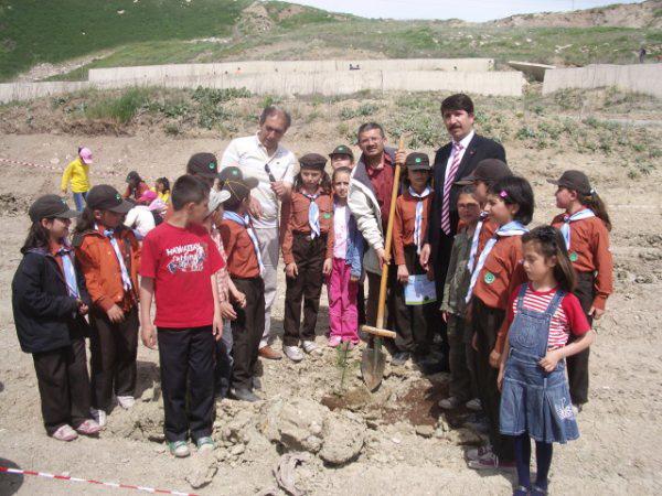 Üçüncü Eğitim Bölgesi Ağaçlandırma Çalışması