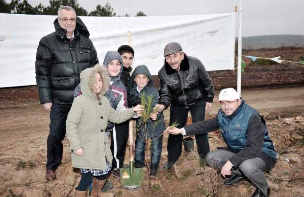 Beykoz'da Yeşeren Tohumlar Toprakla Buluştu
