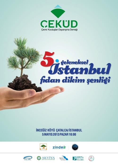 Geleneksel İstanbul Fidan Dikimi Şenliği ve Piknik Gününe Davet