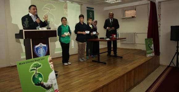Güngören'de 'Minik Eller Yeşilleniyor' Projesi