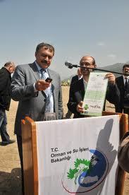 Orman Bakanı Fidan Borcunu Ödedi