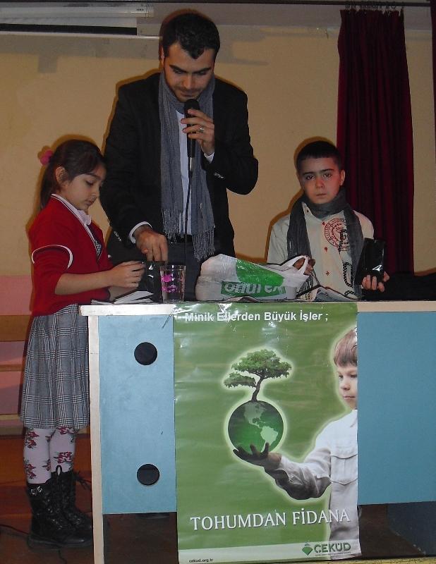 ÇEKÜD Sultqangazi İstiklal İlkokulunda