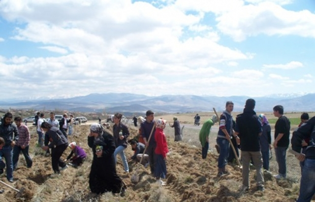 Mahmut Esad Coşan Hatıra Ormanına 500 Sedir Fidanı Daha
