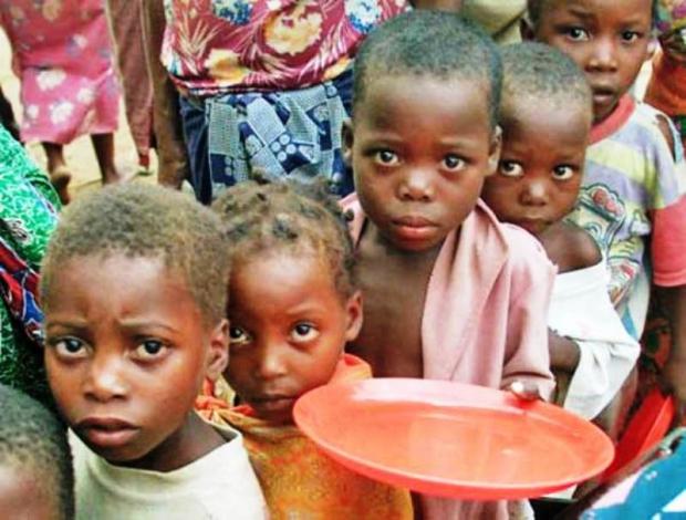 Orta Afrika'da Kıtlık Tehlikesi
