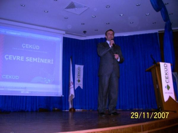 Biltek Eğitim Kurumları'na Çevre Semineri Verildi