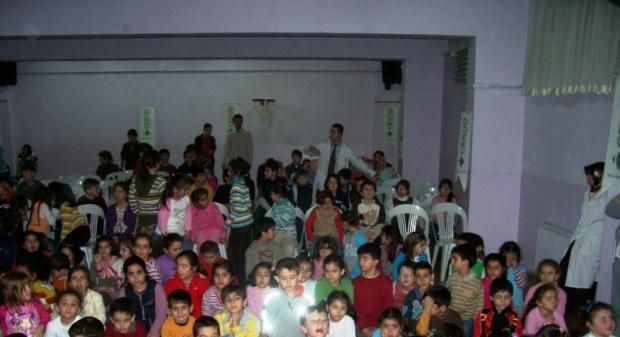 Mustafa enver ilköğretim okulu'na çevre semineri