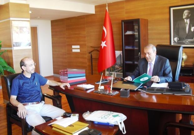 ÇEKÜD'den İstanbul Çevre ve Şehircilik İl Müdürlüğü'ne Ziyaret