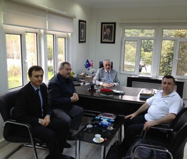 İstanbul Ağaç ve Peyzaj A.Ş. Genel Müdürü Ziyaret Edildi