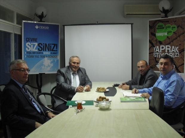 DKMP Genel Müdürü'nden Derneğimize İade-i Ziyaret