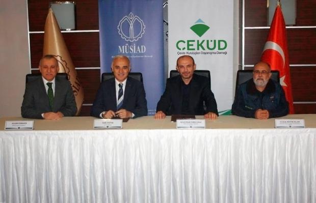 ÇEKÜD, MÜSİAD ile Protokol İmzaladı