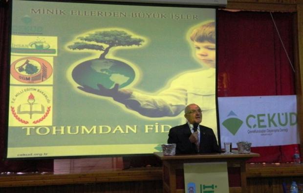 Adana'da 3 Bin Öğrenci Fidan Dikecek