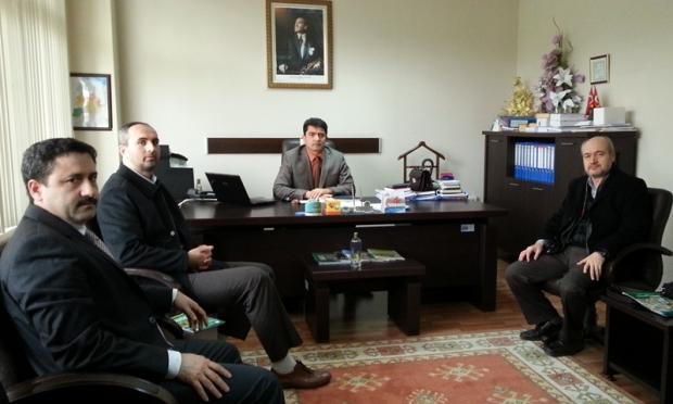 ÇEKÜD'ten Sakarya Orman Bölge Müdürlüğü'ne Ziyaret