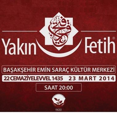 Fatih'in Neslinden 'Yakın Fetih' Programı