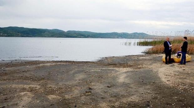 Sapanca Gölü'nde Tehlikeye 19 Santim Kaldı