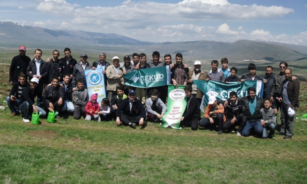 Erzurum'da Mayıs Bereketi Fidan Dikimiyle Başladı