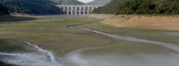 Barajlardaki Su Yüzde 32 Daha Az