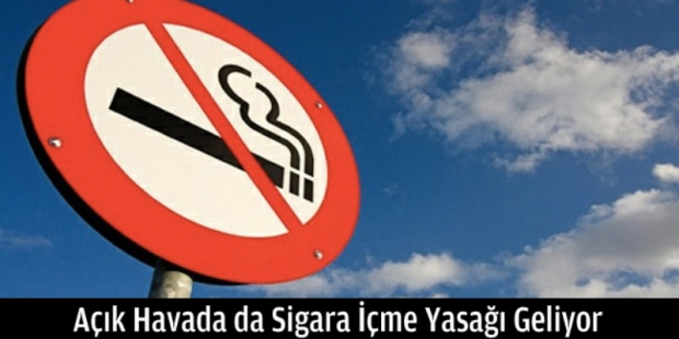 Açık Havada da Sigara Yasağı Geliyor