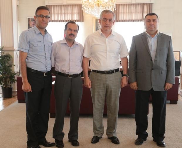 Eyüp Belediye Başkanı Remzi Aydın'la ÇEKUD Projelerini Görüştük