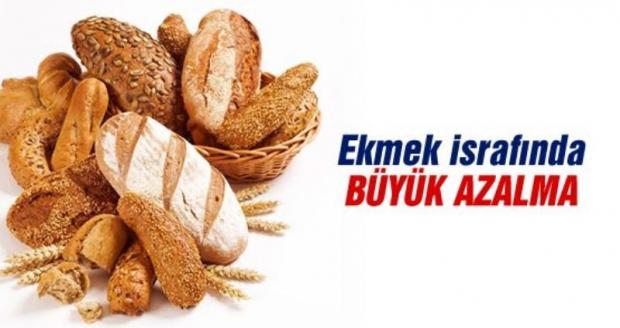 Ekmek İsrafında Büyük Azalma
