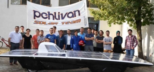 110 Km. Hıza Ulaşabilen Güneş Enerjili Yerli Otomobil