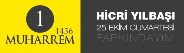 Hicri 1436 Yılınızı Tebrik Ederiz