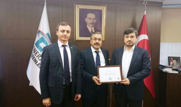 EPDK Başkanı Mustafa Yılmaz'ı Ziyaret Ettik