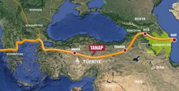 TANAP'ın Temeli 17 Mart'ta Atılacak