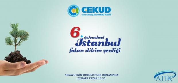 İstanbul Geleneksel Fidan Dikim Şenliği 22 Mart'ta