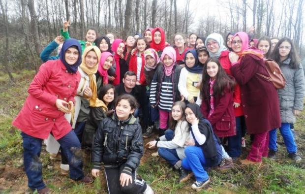 Çamlıca Kız Anadolu İHL Öğrencileri 3000 Fidan Dikti