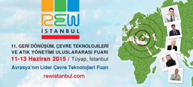 Çevre Teknolojileri Fuarı REW İstanbul, 11-13 Haziran'da