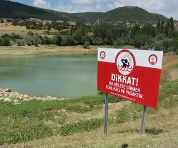 Baraj Gölleri ve Göletlere Girmeyin, Boğulursunuz!
