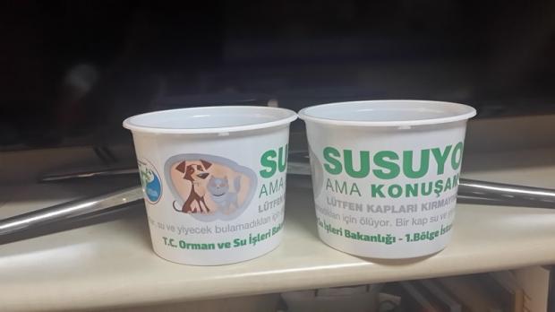 """DOĞA KORUMA VE MİLLİ PARKLAR GENEL MÜDÜRLÜĞÜ'NDEN ÇAĞRI !!! """"BİR KAP SU DA SEN VER """"."""