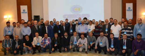 ÇEKUD 2015 yılı Bilgilendirme Toplantısı Antalya'da Yapıldı