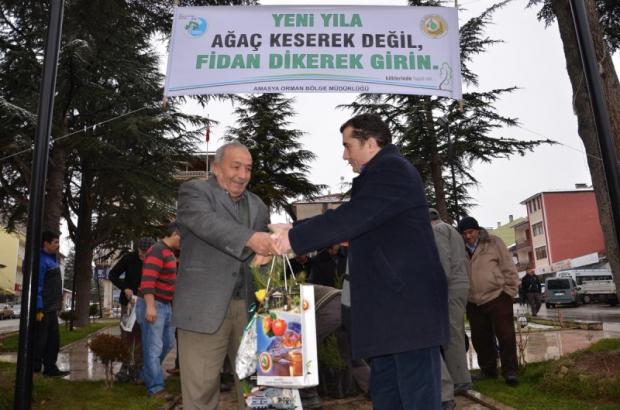 Orman ve Su İşleri Bakanı Prof. Dr. Veysel Eroğlu: Yılbaşında Vatandaşlarımız Fidanlıklarımızdan Ücretsiz Fidan Temin Edebilirler