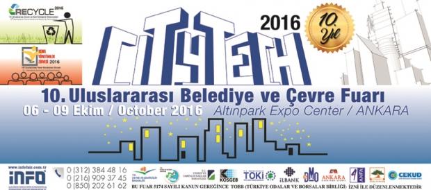 10. Uluslararası Belediye ve Çevre Fuarı, 6-9 Ekim'de Ankara'da