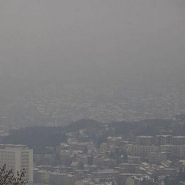 Saraybosna'da Hava Kirliliğine Plaka Önlemi