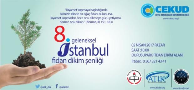 Geleneksel İstanbul Fidan Dikim Şenliği 2 Nisan'da