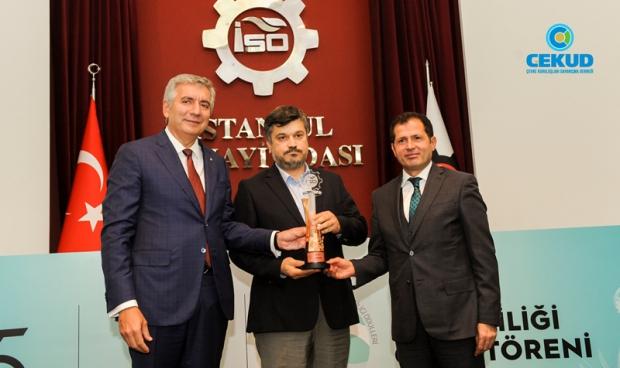 ISO'dan ÇEKUD'e Enerji Verimliliği Proje Ödülü