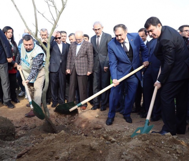 ÇEKUD Kuzey Marmara Otoyolu Ağaçlandırma Törenine Katıldı