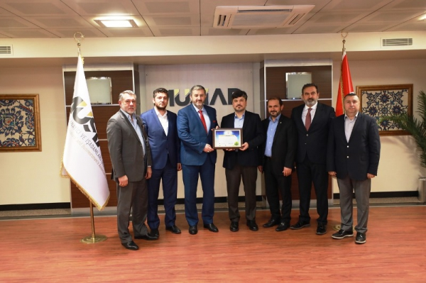 ÇEKUD'ten MÜSİAD Genel Başkanı'na  Ziyaret