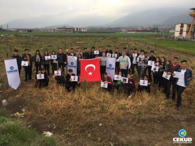 Osmaniye'de Fidan Dikimleri Devam Ediyor