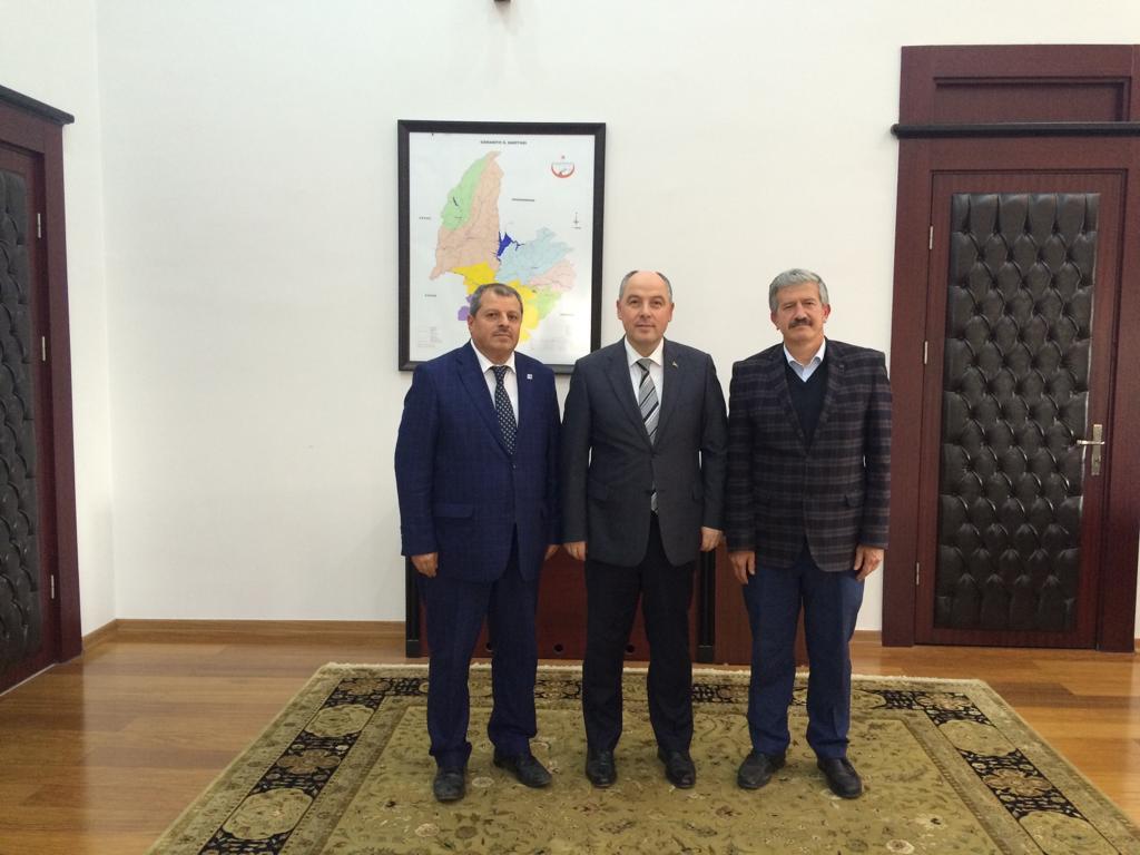 ÇEKUD'dan Osmaniye Valisi Ömer Coşkun'a ziyaret