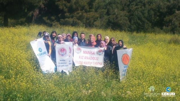 Manisa'da Afrin Şehitleri Anısına Fidan Dikildi