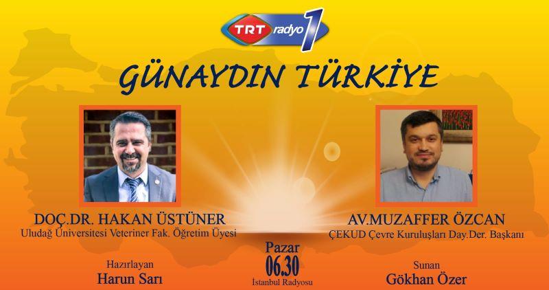Yönetim Kurulu Başkanımız Av. Muzaffer Özcan Günaydın Türkiye Programı'nın konuğuydu