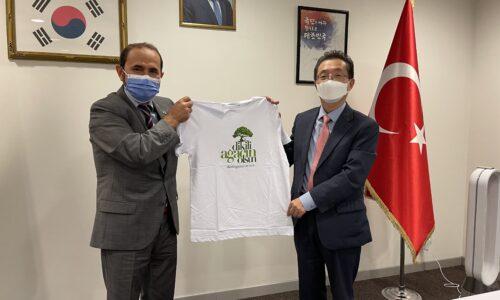 Kore-Türkiye Dostluk Ormanı  6 şehirde kurulacak!